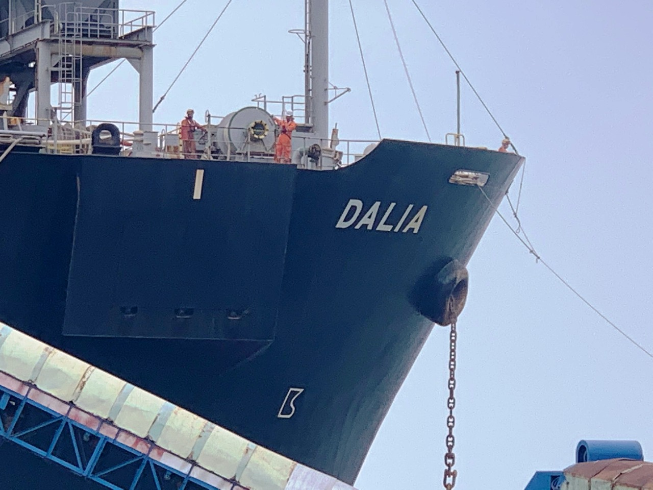 M/V Dalia at Chan May port